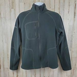 Columbia Mens Jacket Black Fleece Mock Neck